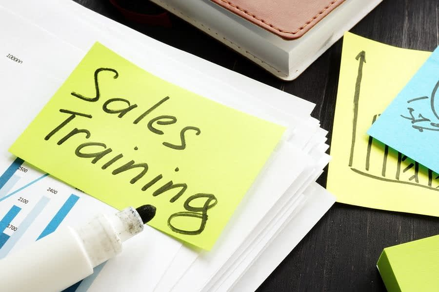 Sales training for technical specialists