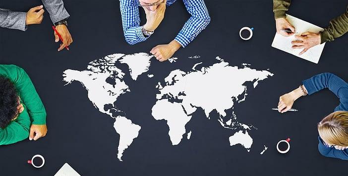 Global recruitment network