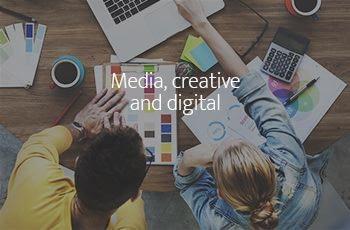 media creative digital sector